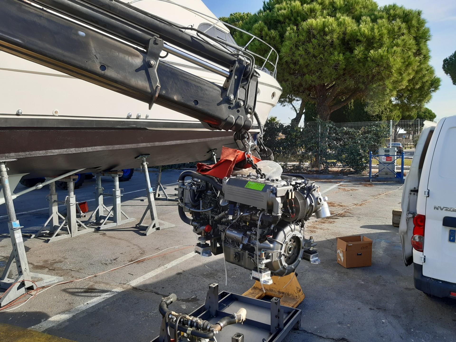 Grutage moteur Yanmar 6lpa stp