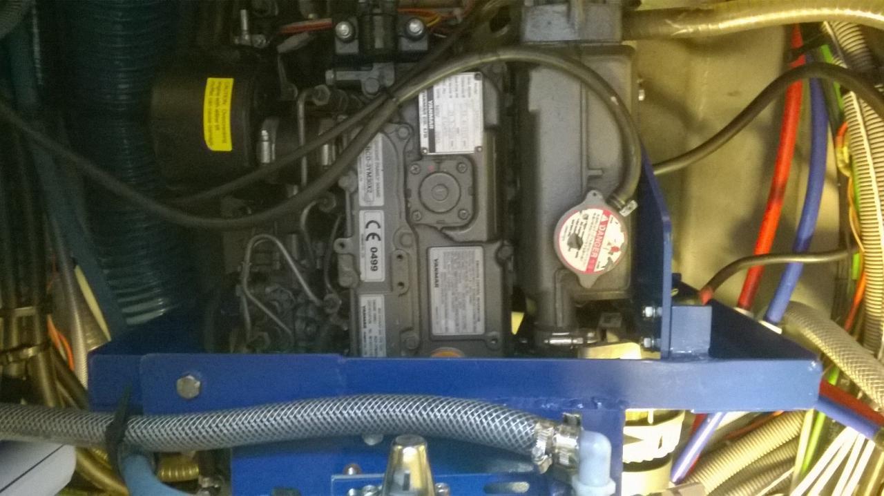installation sur moteur