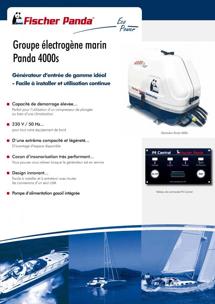 Série Marine 4000S 4500 VA page1